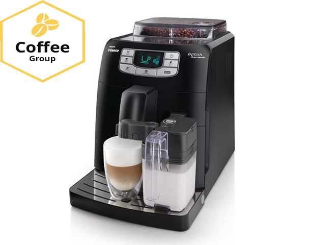 Кавовий апарат Saeco Intelia Cappuccino Coffee group Lviv