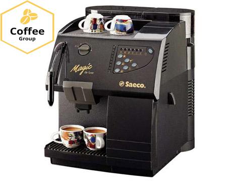 Кавоварка Saeco Magic Deluxe Coffee Group Lviv