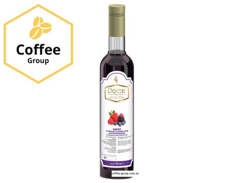 """Сироп Dolce aroma """"Лісова ягода"""" 0,7л."""