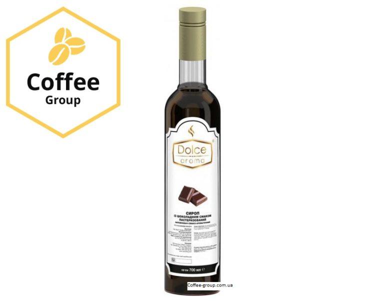 """Сироп Dolce aroma """"Шоколадний"""" 0,7л."""