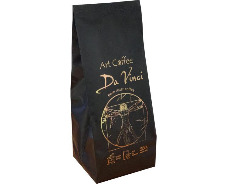 Art coffee Da vinci
